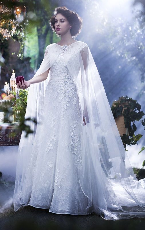 Our Alfred Angelo Disney Princess gown, Snow White, with detachable ...