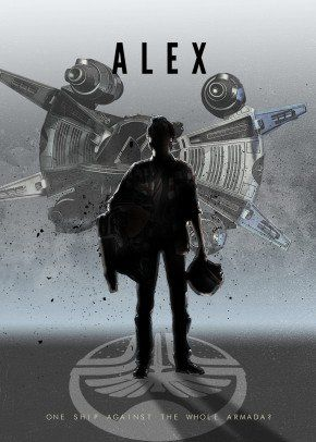 The Last Starfighter movie poster print