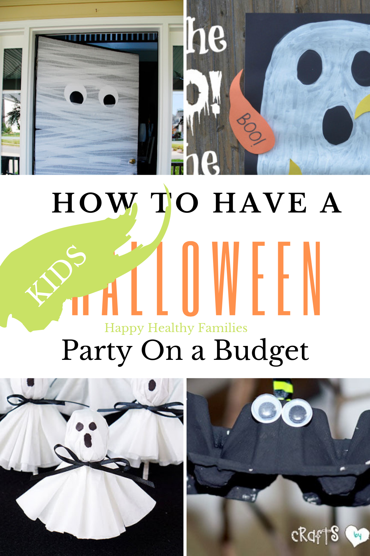 DIY Cheap Halloween Party Ideas For Kids (When Your Budget