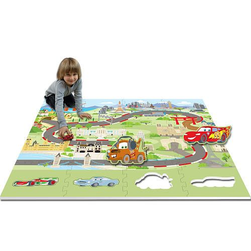 Disney Pixar Cars 2 Die Cut Floor Mat  - Best Brands -  Carpets - FAO Schwarz®