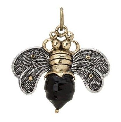 Waxing Poetic Black Bee Brave Pendant, Waxing Poetic Jewelry