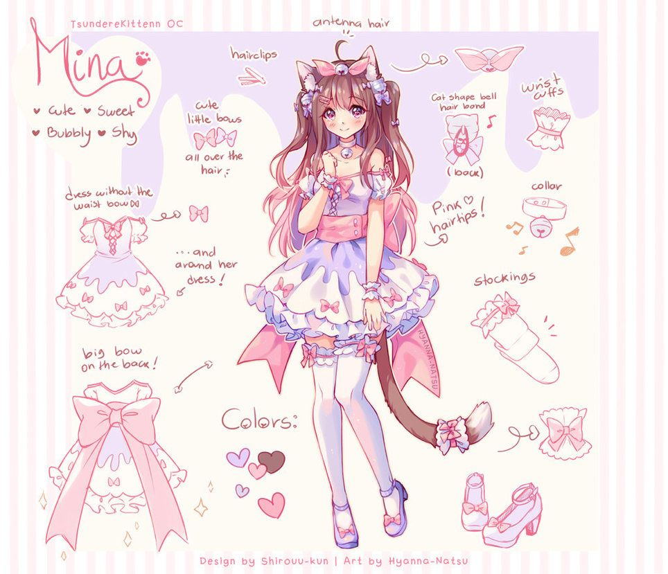 Commission Candy Maid By Hyanna Natsu Deviantart Com On Deviantart Anime Character Design Cute Art Anime Art Girl