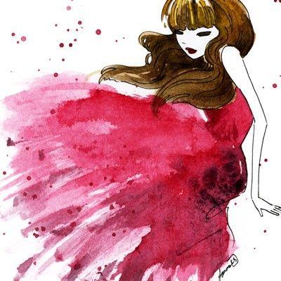 scarlet...illustration!