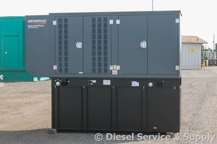 For Sale Generac 100 Kw Diesel Generator Year 2016 5 Hours 240 Volt 3 Phase Weatherproof Enclosure Generator House Gas Powered Generator Gas Generator