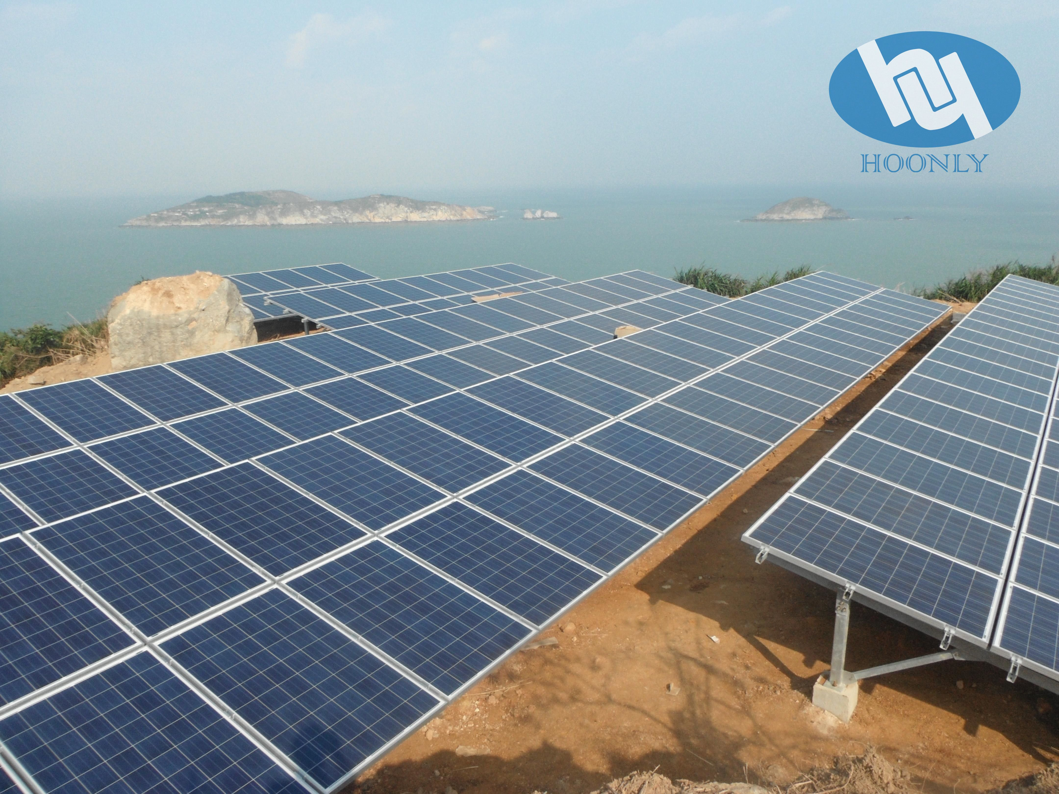 Hoonly Aluminium Solar Panel Frame Solar Solar Panels Roof Solar Panel