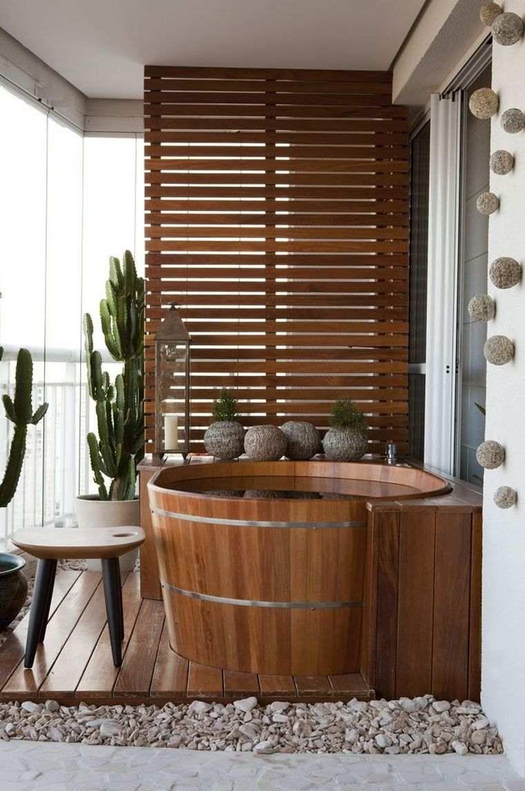 Das Badezimmer deco Zen inspiriert japanisch  Spa zu hause