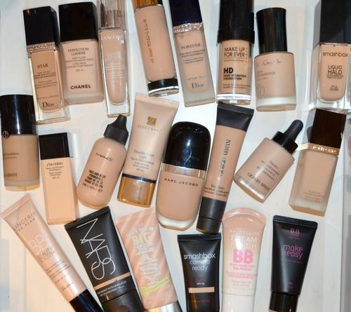 Makeup collection · Foundations & BB creams. Dior Diorskin Star, Forever; Chanel Perfection Lumière; Lancôme