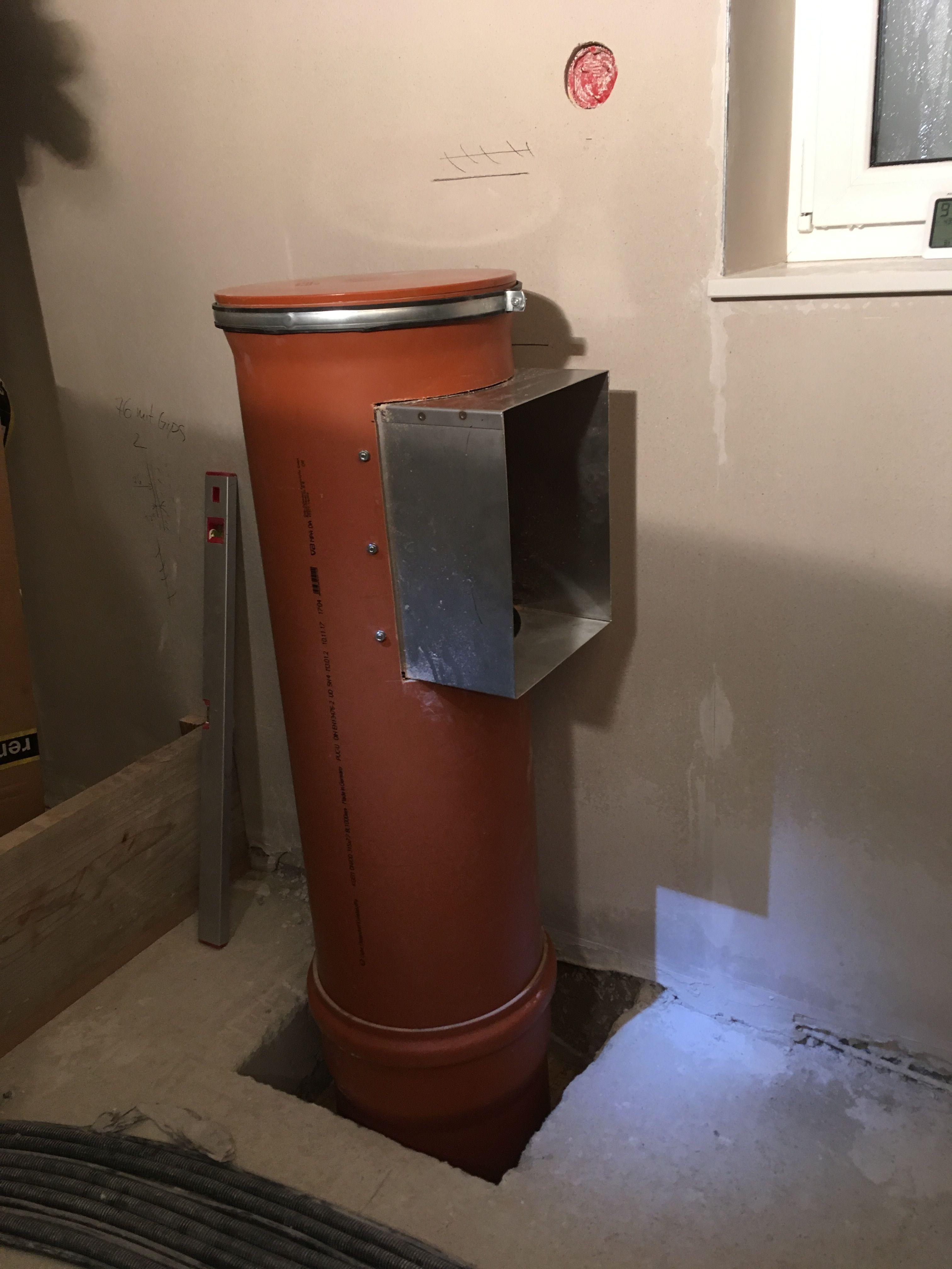 Hervorragend Wäscheschacht ohne Verkleidung | Laundry Chute Ideas in 2019 WK69