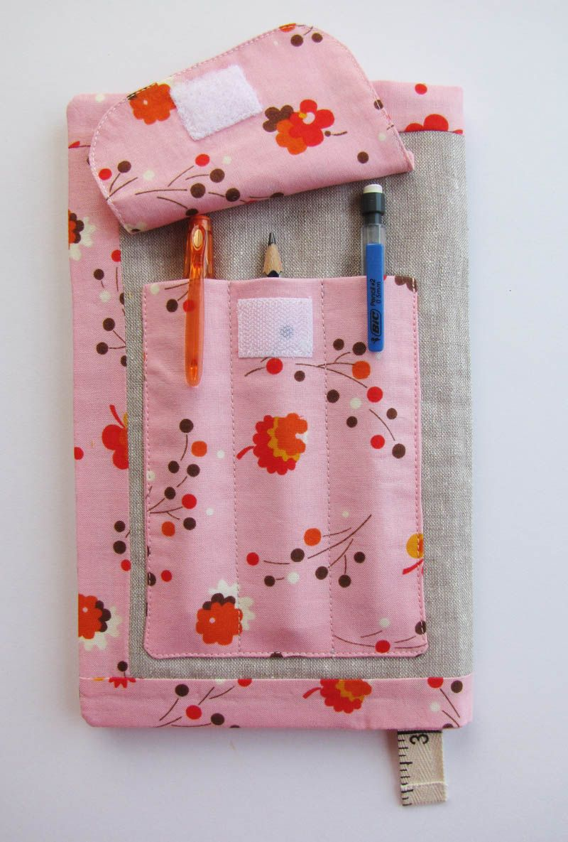 Adjustable Fabric Book Cover ~ Sketch book cover free sewing : bags and pouches pinterest