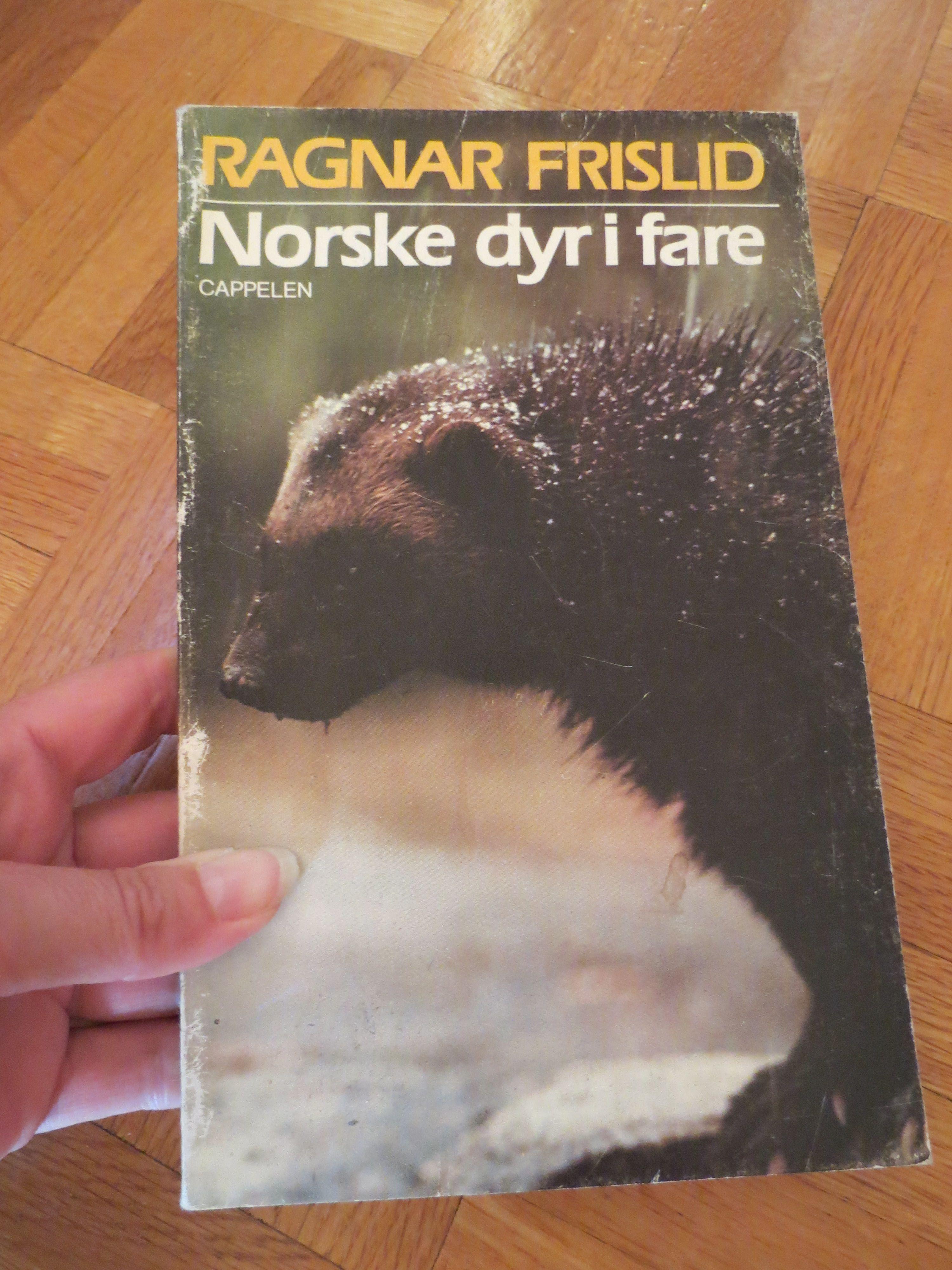 "Ragnar Frislid – ""Norske dyr i fare"""