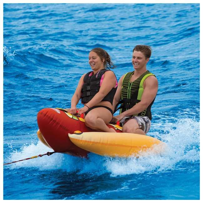 2c78a3b728e Sportsstuff Hot Dog 2 Person Towable Tube- Pin It to Win It!
