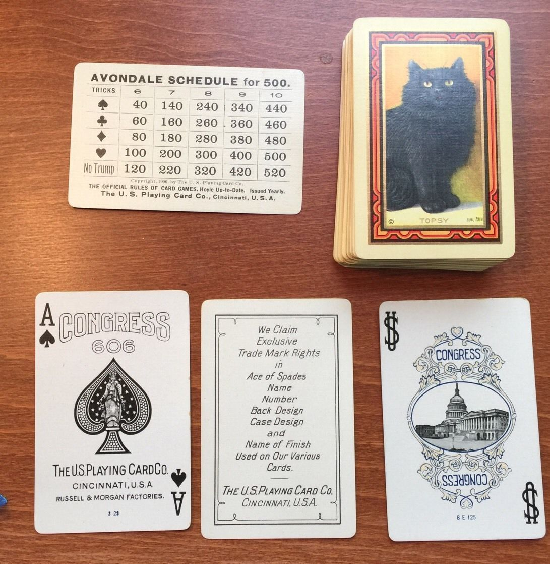dating congress playing cards