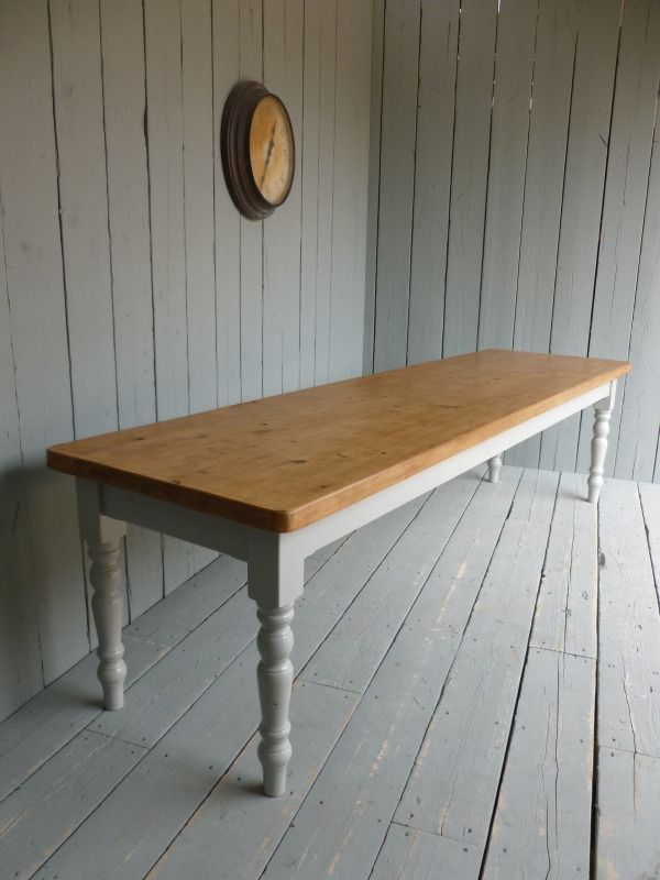 Plank Top,scaffold Board Top,Reclaimed Pine Farmhouse Table,pine Table,pine