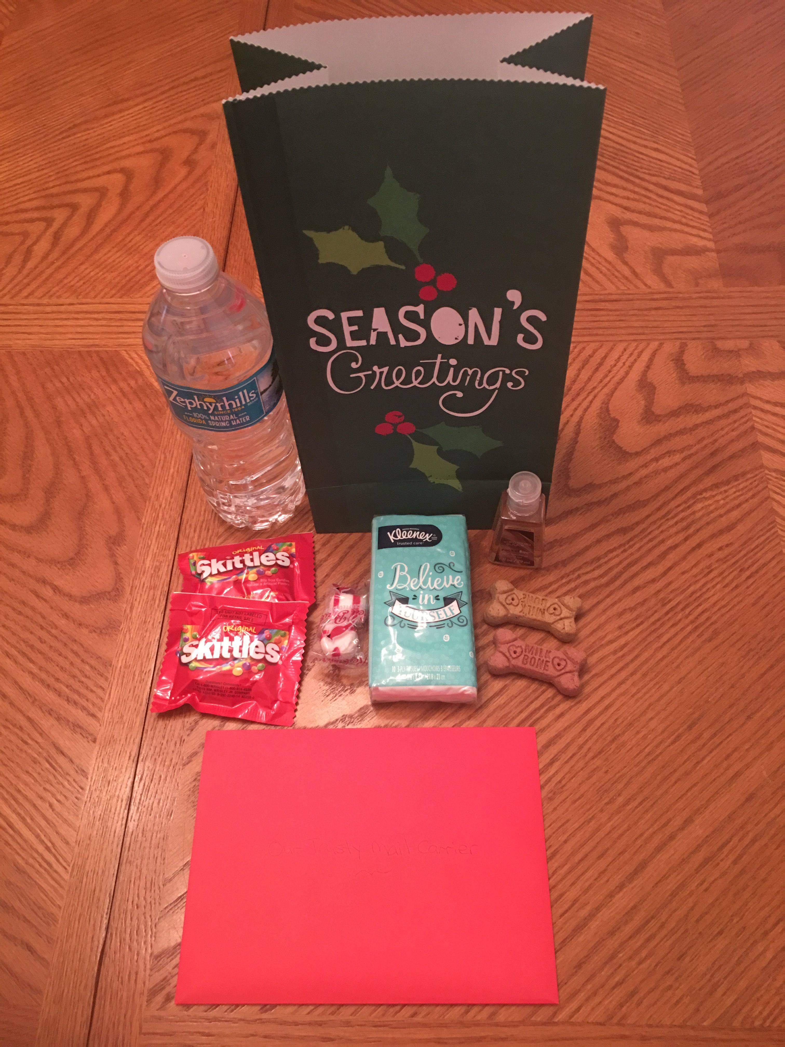 I Created This Kit As A Holiday Thank You For Our Mail Carrier I