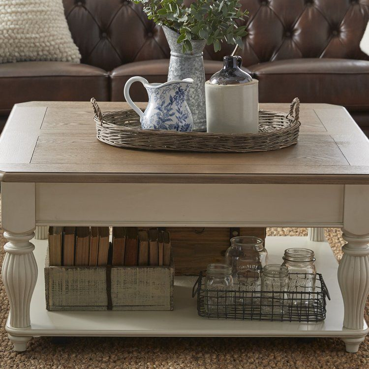 Quevillon Lift Top Coffee Table With Images Decorating Coffee Tables Lift Top Coffee Table Coffee Table Trunk