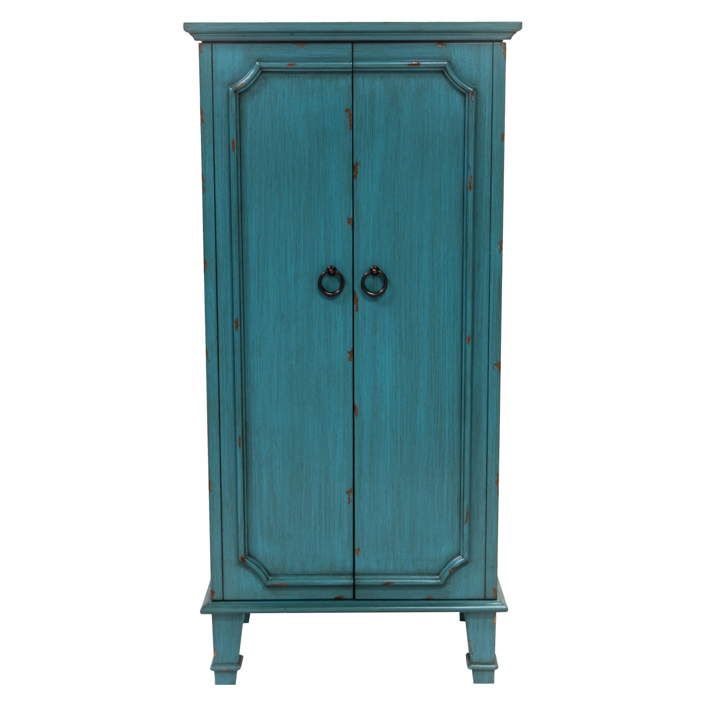 Cabby Jewelry Armoire Turquoise Hives Honey