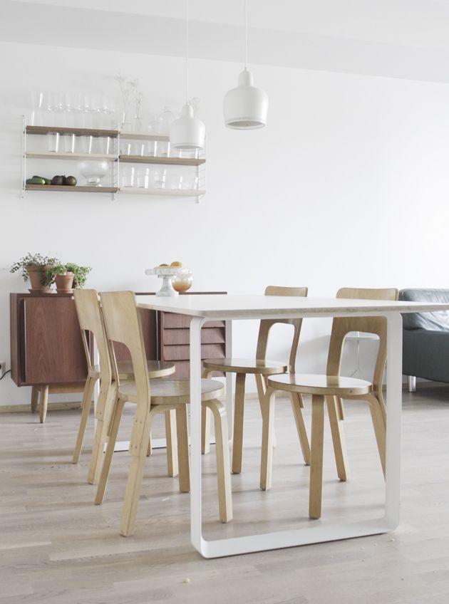 Muutos Muutoon aka uusi keittiön pöytä. Da Daa -blogista. http://goo.gl/nYWRK2