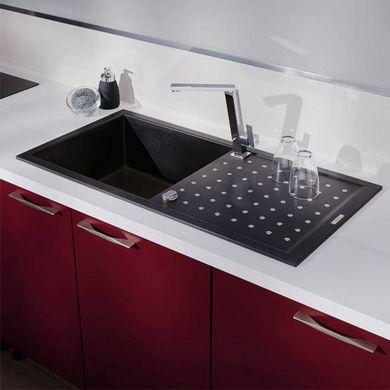 Évier à encastrer Fusionstyl matériau de synthèse - Cuisine Focus - comment poser un evier de cuisine