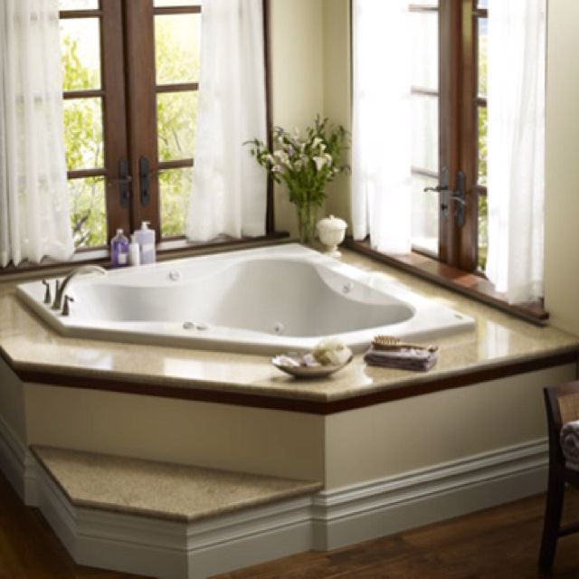 Perfect For Relaxing With Images Tub Remodel Corner Bath