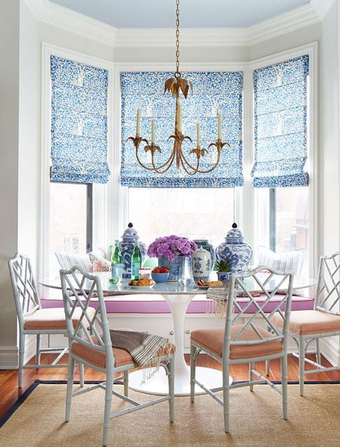The Chinoiserie Breakfast Nook Breakfast Nook Furniture Nook Furniture Curtains Living Room