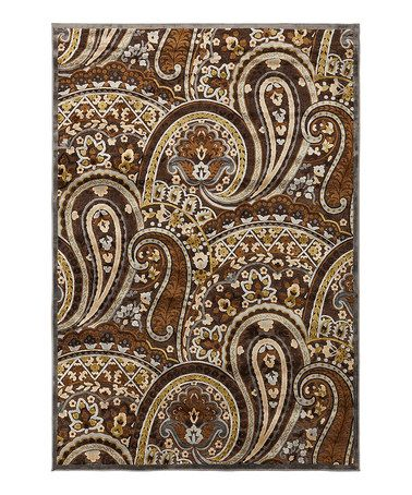 Another great find on #zulily! Beige Intersecting Square Basilica Rug #zulilyfinds