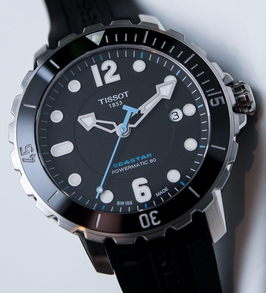 5aa7db3ceaa Tissot Seastar 1000 Powermatic 80 Projetos