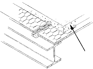Poured gypsum deck ppd programming planning design for What is roof sheathing definition