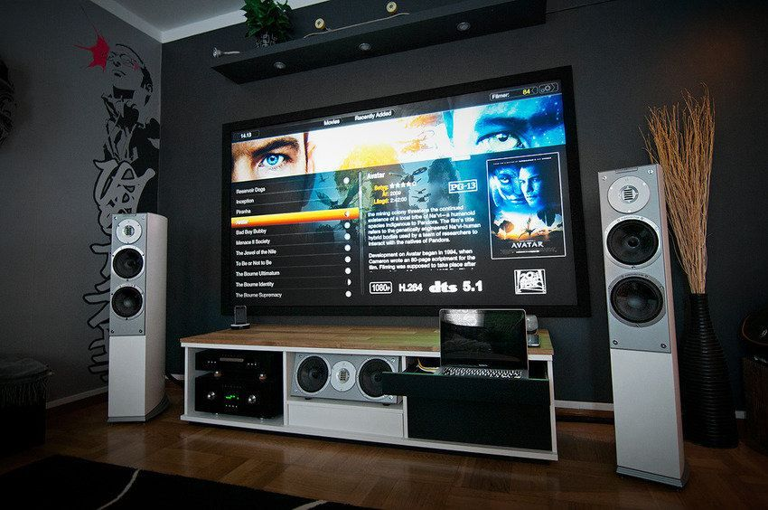 Home Theater And Gaming Setup Bing Images