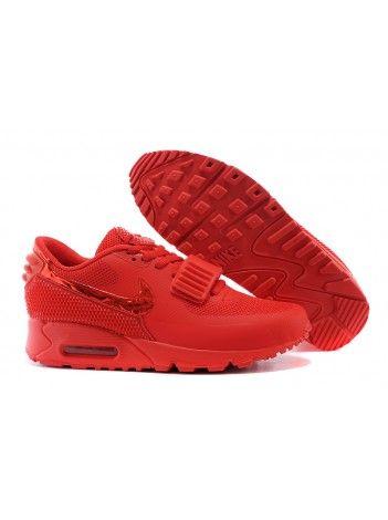 super popular 8565f 9bde6 Tênis Nike Air Max 90 Yeezy 2 SP Vermelho