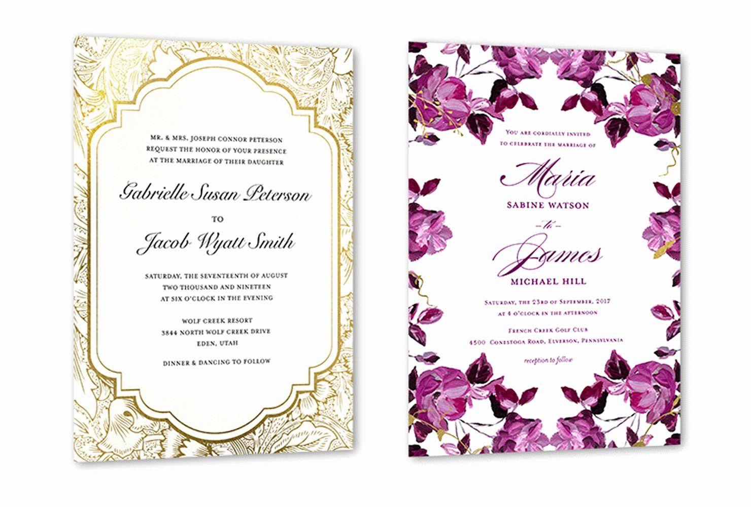 35 Wedding Invitations Wording Template Wedding