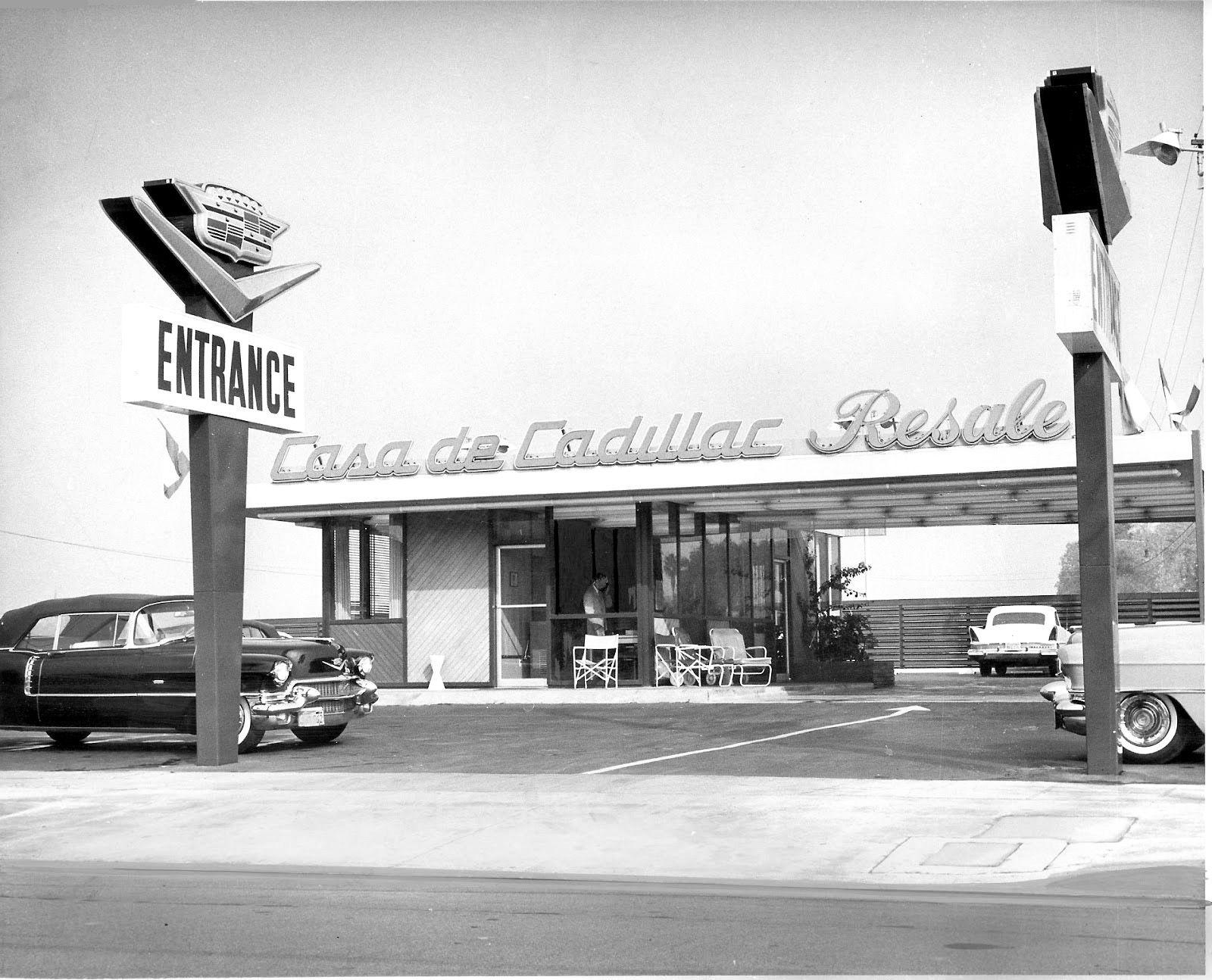Casa De Cadillac Resale Lot Ca 1958 That New Car Smell