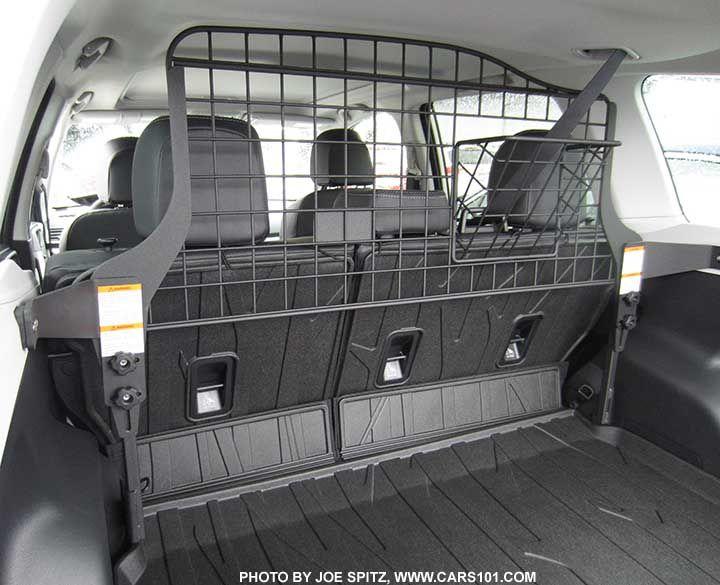 2017 Subaru Forester Optional Dog Guard Compartment Separator Subaru Subaru Forester Car Tent Camping