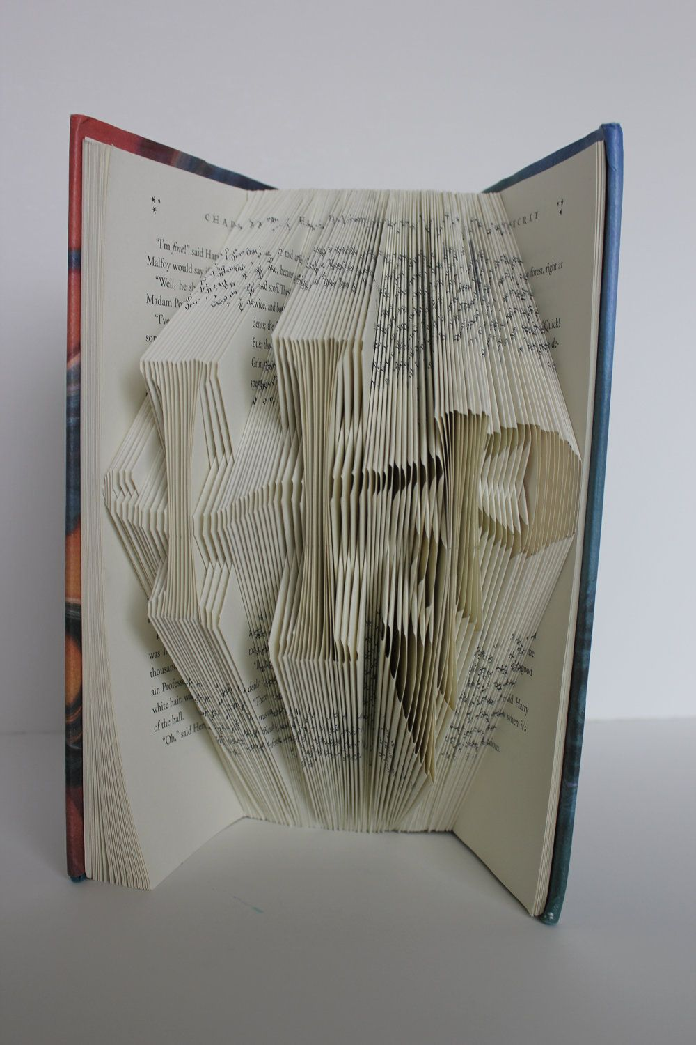 Harry Potter Book That Has Pages Cut Out Spell Hp Thats The Recycled Computer Circuit Board Geekery Bookends For Bookworm Original Caption As Me Youd Better Run Far Away If You Take A Pair Of Scissors To My