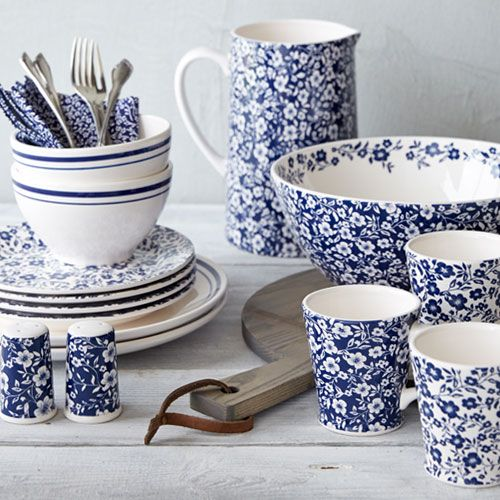 Antique Floral | Sur La Table. Beach CottagesCountry KitchensBlue Dinnerware SetsBlue And White ... & Antique Floral | Sur La Table | blue and white my favorite ...
