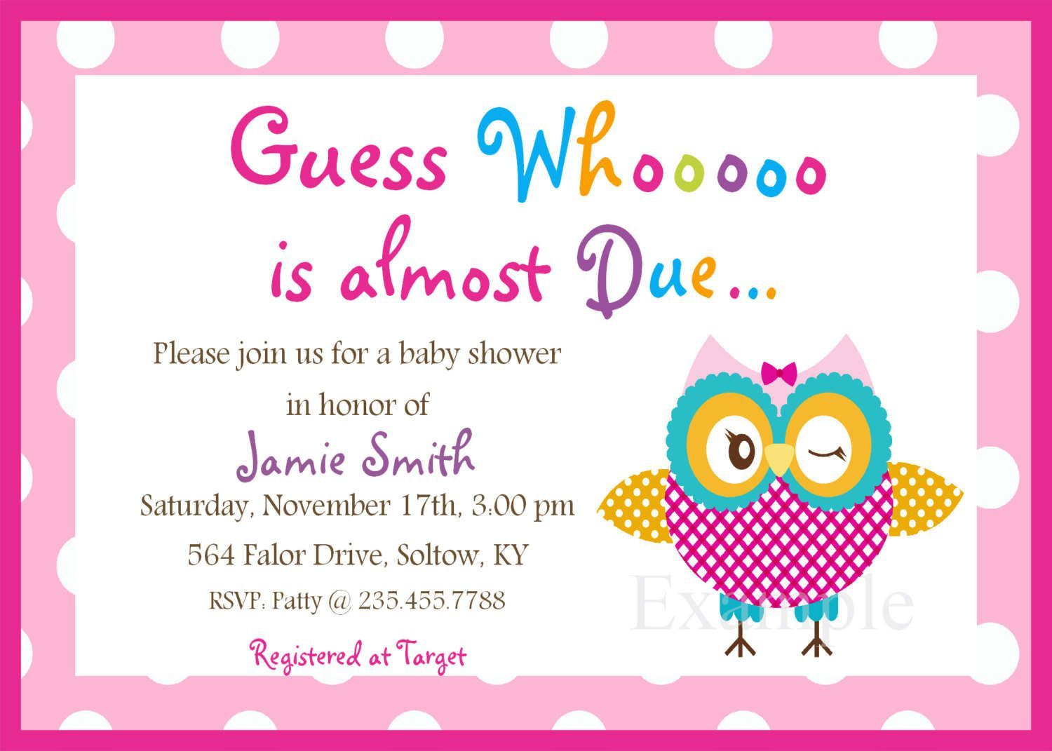 Image For Baby Shower Invitation Templates Download With Photo Free