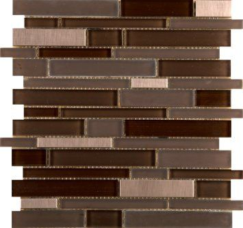 Emser Tile & Natural Stone: Ceramic and Porcelain Tiles, Mosaics, Glass Tiles, Natural Stone: Mosaic, Glass and Metal: Flash, Illuminated Linear Mosaic