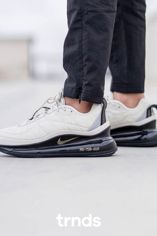 Nike AIR MAX 720 Rubber Sole Lace up Casual Style Street Style Logo