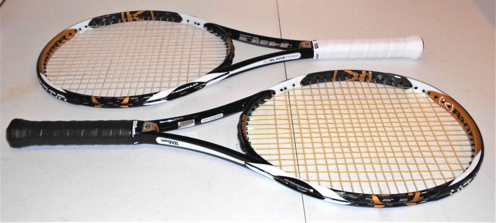 Set of Two Wilson K Factor K Blade Team 104 sq in Tennis