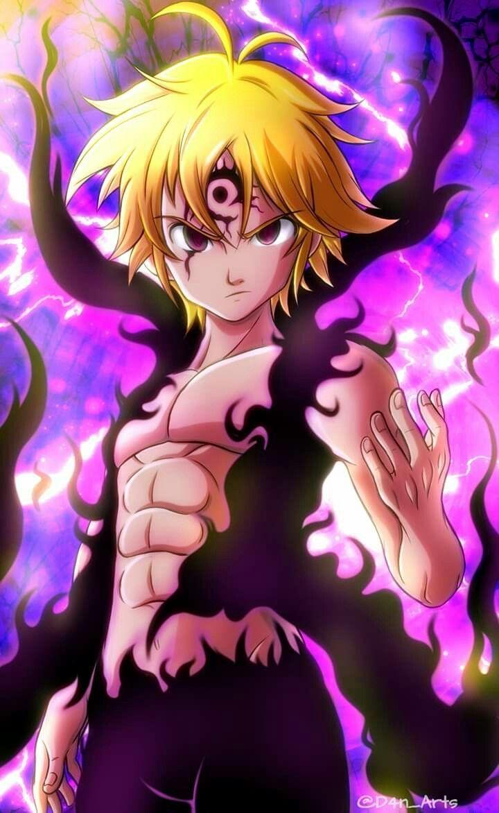 Meliodas anime fond decran dessin anime seven deadly