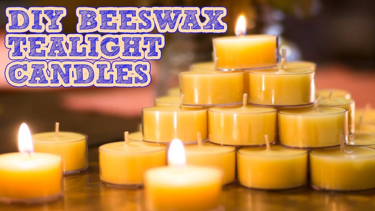 How To Make Beeswax Candles Coconut Oil & Scented