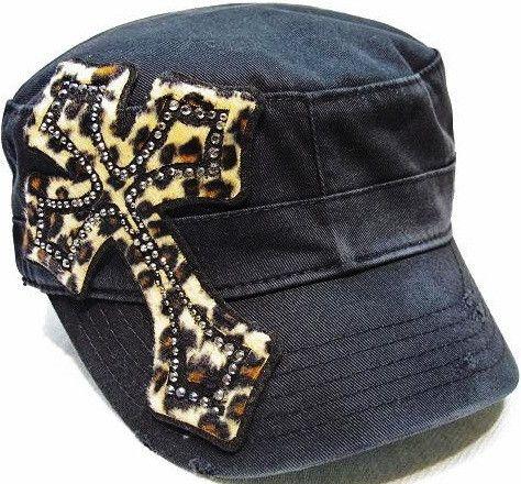 ee710bc118a LEOPARD CROSS CADET HAT