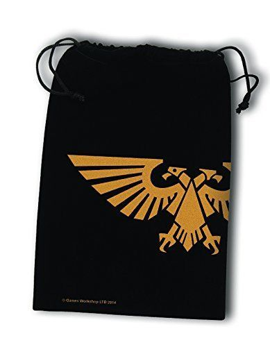 Fantasy Flight Supplies Dice Bag Warhammer 40K (40,000) Imperial Aquila #FantasyFlightGames