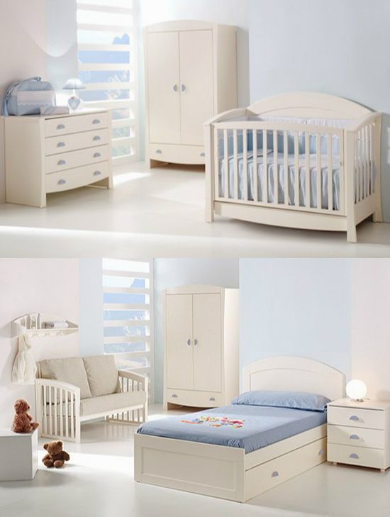 Cunas convertibles en cama infantil | Camas infantiles, Cuna ...