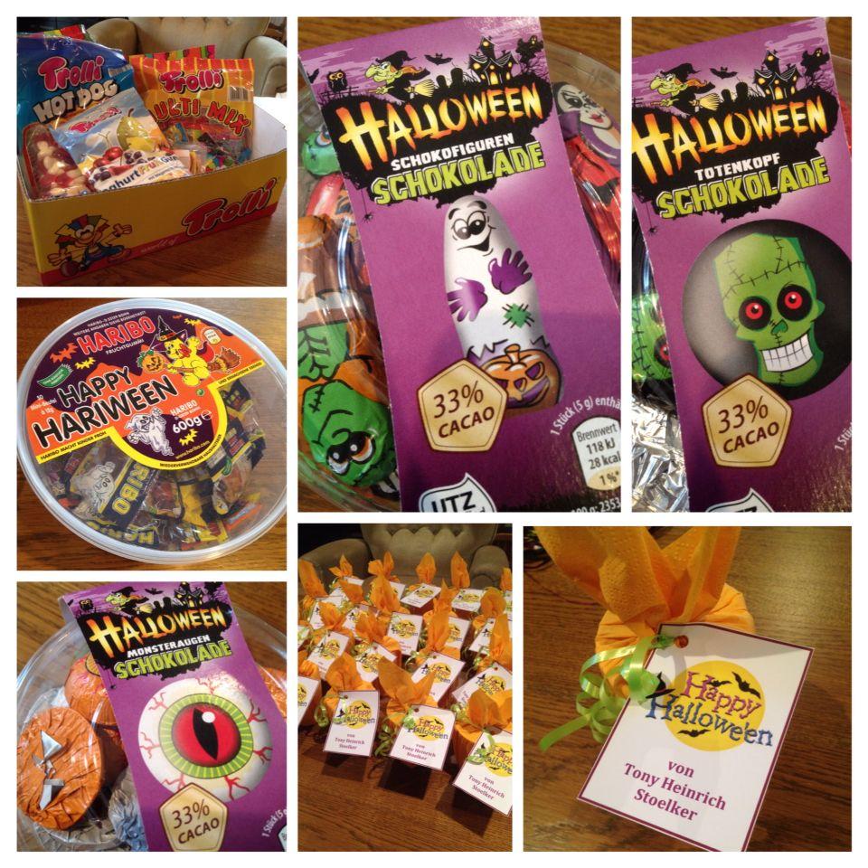 Halloween treats for Tony's friends at Kindergarten #halloween2014