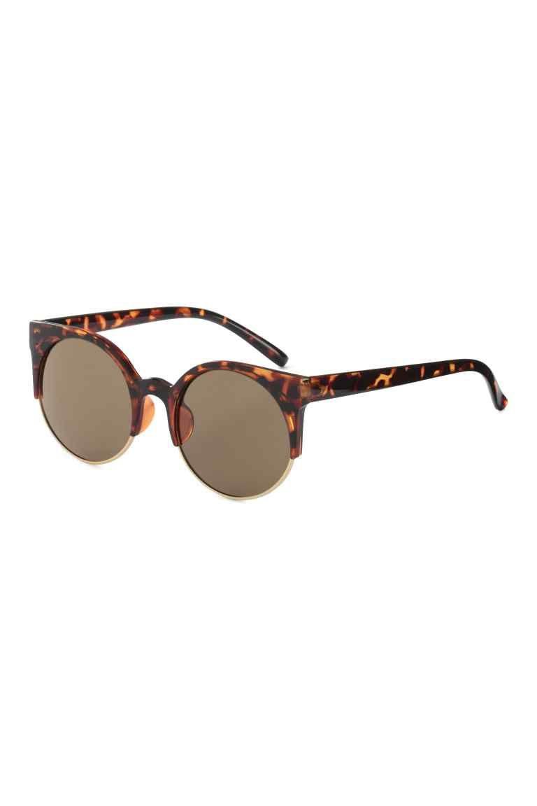 Sunyan Le nouveau visage rond lunettes, lunettes de soleil femme tide avec les stars de la lunettes à courte vue et le rouge, le visage rouge devient