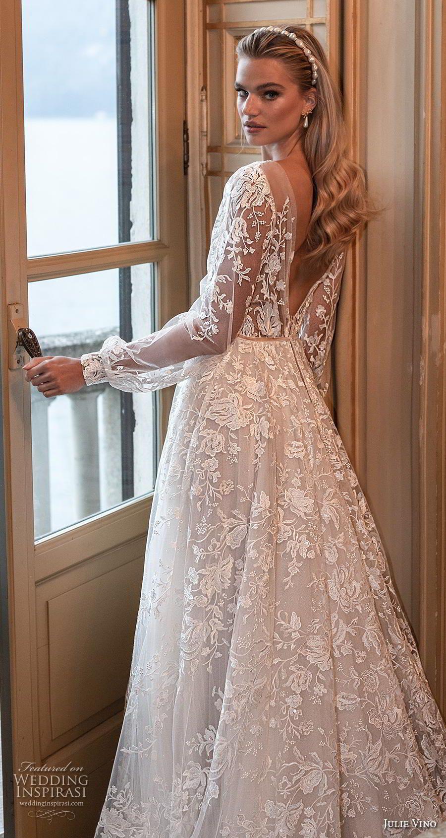 """Julie Vino Herbst 2020 Brautkleider – Brautkollektion """"Bellagio""""   – Wish to have a bridal shop"""