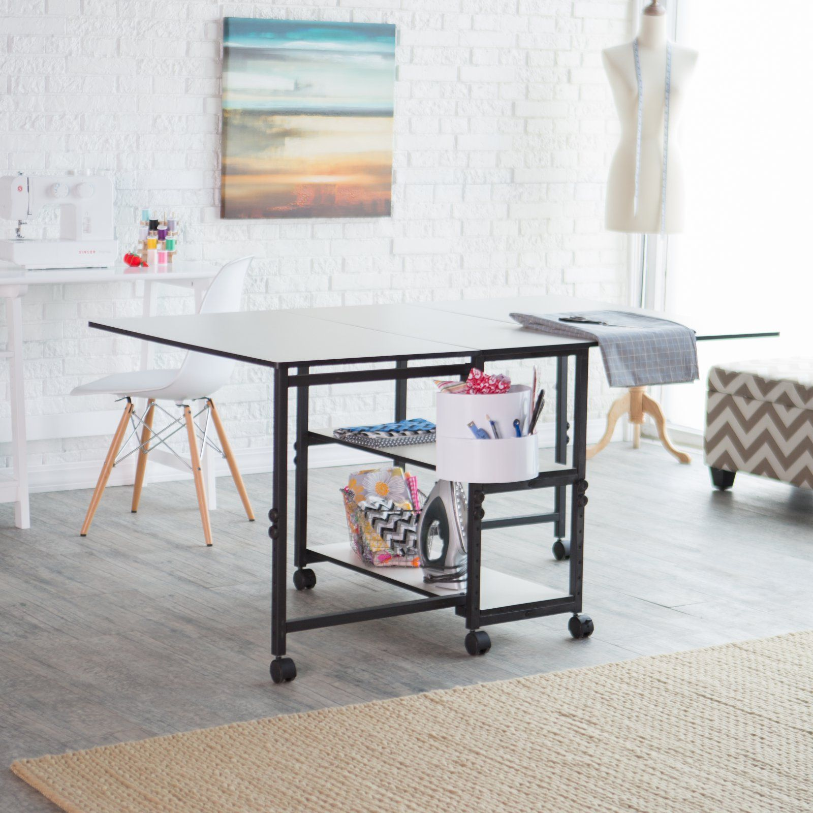 Arts Crafts Sewing In 2020 Hobby Table Foldable Table Home