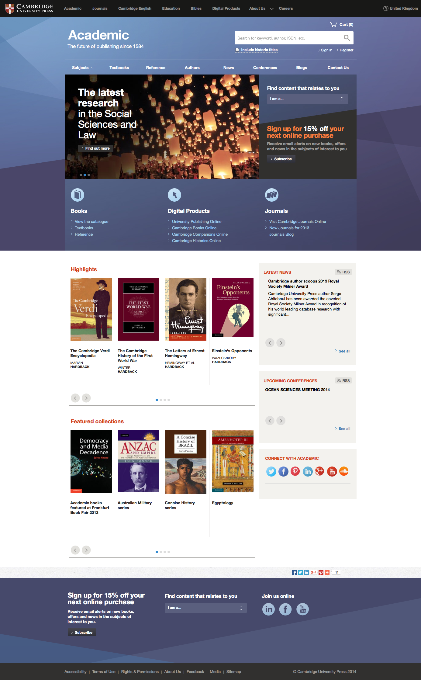 Cambridge University Press Cambridge University Press Social Science Reference Books