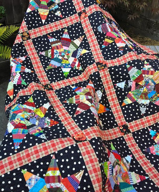 nifty quilts | stars | Pinterest | Nifty, Winter solstice and Tree ... : liberated string quilts - Adamdwight.com