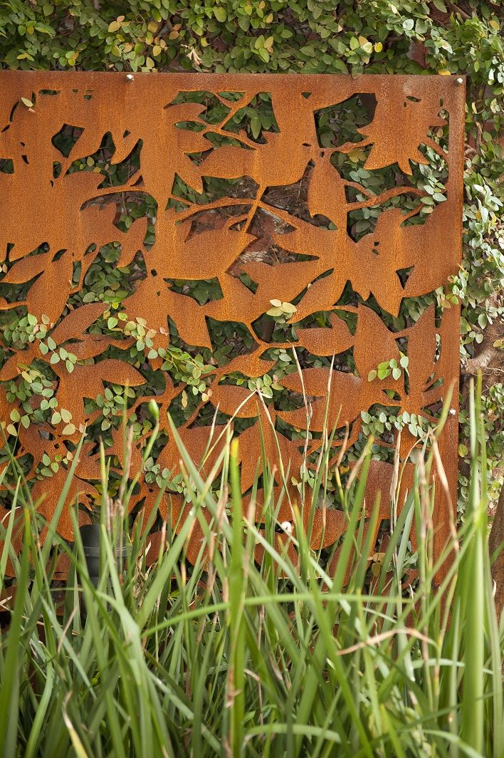 Jenny Smith Gardens Corten Steel Garden Design In 2019